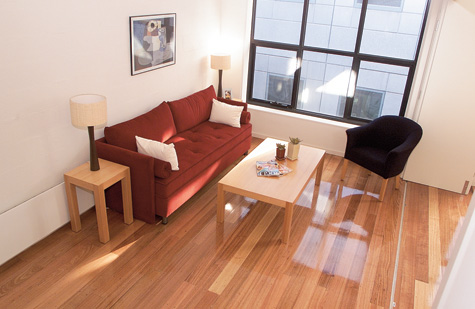 Living Space from Stairwell