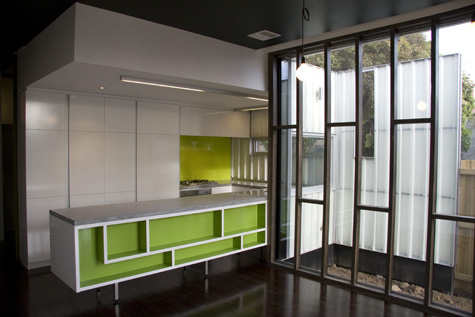 Living Edge Properties Kitchen And External Glass Wall