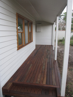 Attractive New Front Porch And Decking