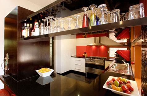 Kitchen Cabinets for the Entertainer